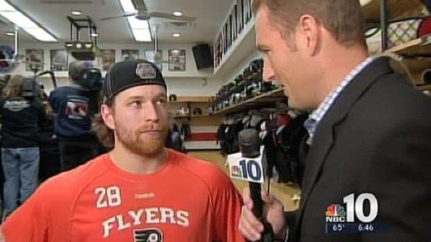 [PHI] Postgame Chat With Claude Giroux