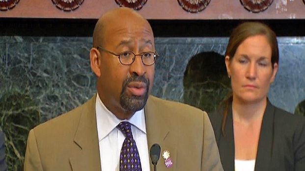 [PHI] Mayor Nutter Speaks on South Philly Home Explosion