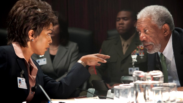 "[AP] Angela Bassett On ""Olympus Has Fallen"" Thriller"