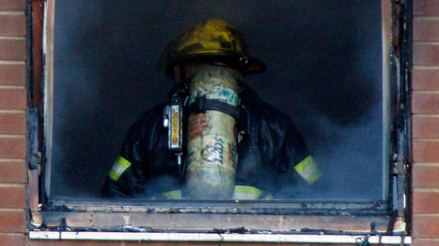 Dramatic Photos: High-Rise Blaze