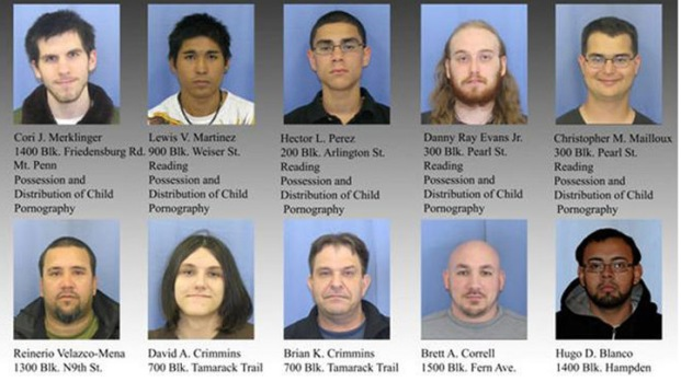 [PHI] Child Porn Sweep Nets 10 Suspects
