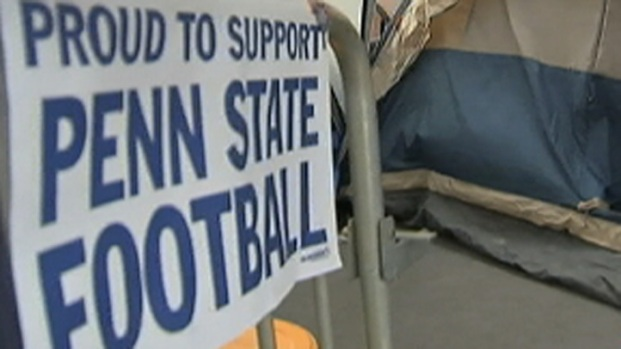 [PHI] Supporters Camp Out for Penn State Home-Opener