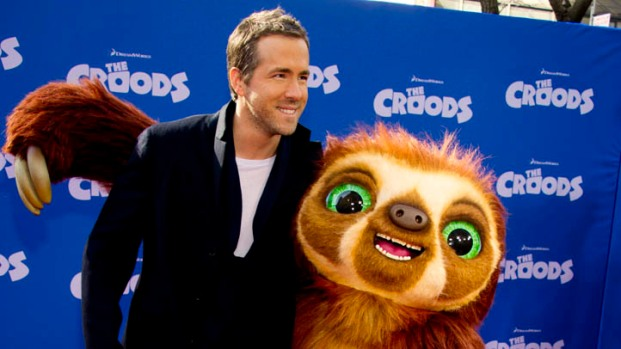 "[NBCAH] Ryan Reynolds' ""The Croods"" Premiere"