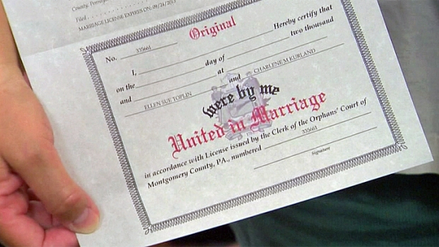 [PHI] Montgomery County's 1st Same-Sex Marriage