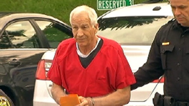 [PHI] Sandusky Gives 18 Minute Statement