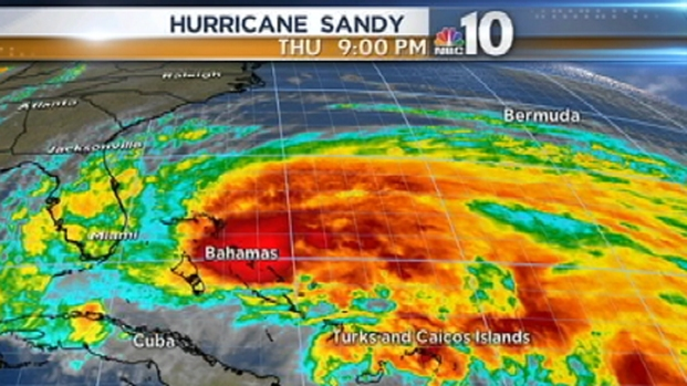 [PHI] Sandy Weakens But Still A Threat