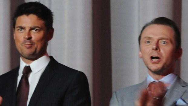"[NBCAH] Simon Pegg and Karl Urban on ""Star Trek"""
