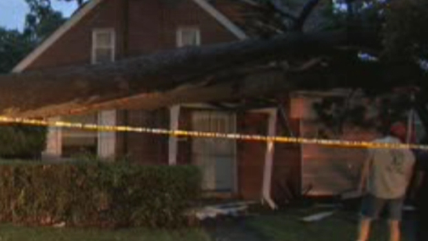 [PHI] Tree Falls on Lehigh County House