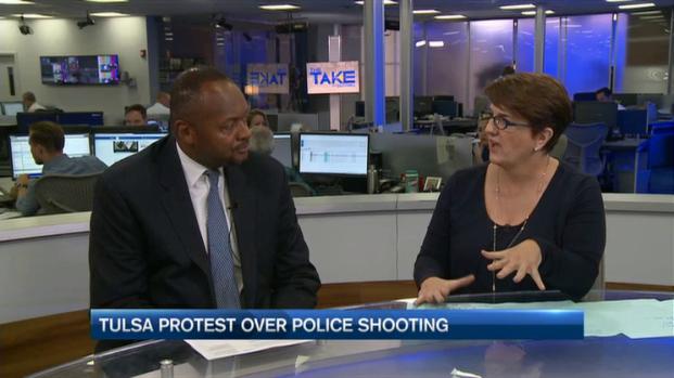 [NATL-NECN] Tulsa Protest Over Police Shooting