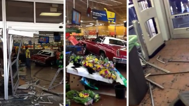 [BAY] Raw Video: Aftermath of Walmart's Easter Sunday Car Crash