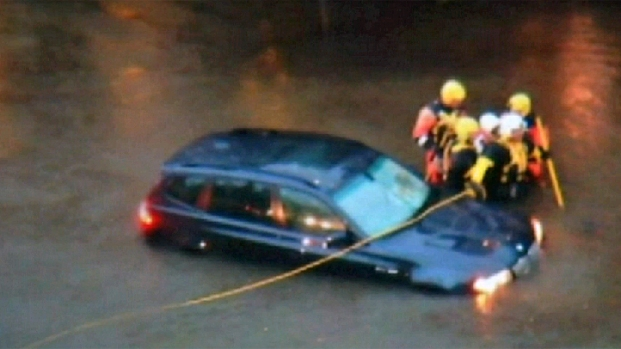 [PHI] Cellphone Video Shows Downingtown Water Rescue