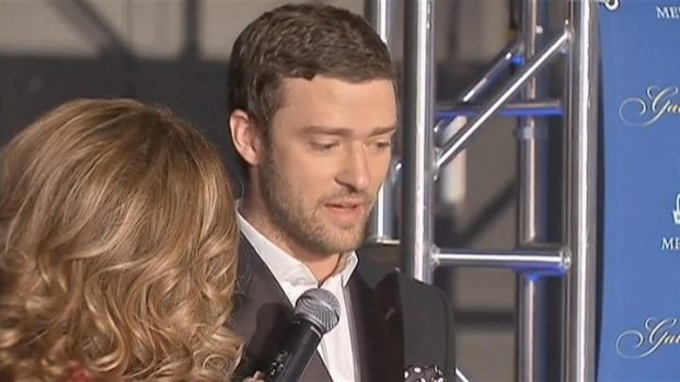 [CHI] Timberlake on the Red Carpet at Ryder Cup Gala
