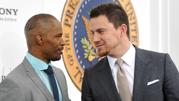 "[NBCAH] Jamie Foxx & Channing Tatum's ""White House Down"" NYC Premiere"