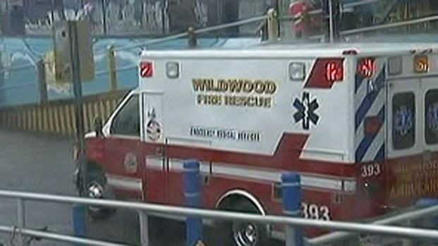 [PHI] Lightning Sends 4 People to Hosptial in Wildwood