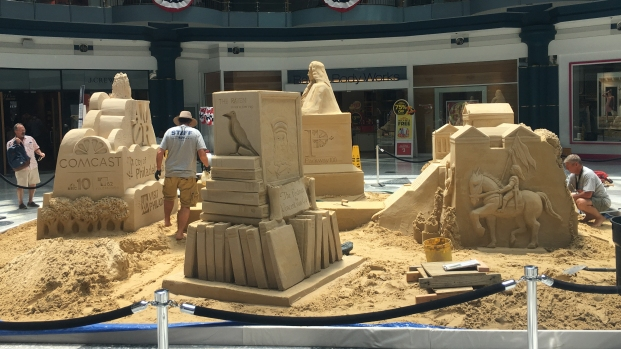 Wawa Welcome America Sand Sculpture Spectacular