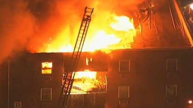 [PHI] Three-Alarm Fire Strikes Montco Condo