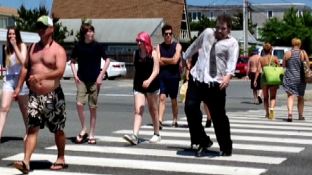 [PHI] Zombies Enforcing Pedestrian Safety