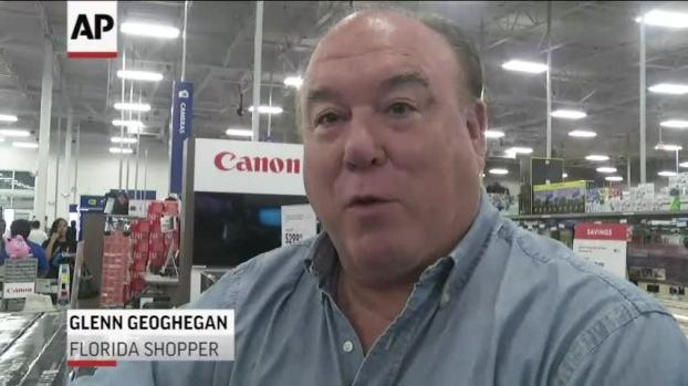 [NATL] Black Friday 'Early Bird' Shoppers Get TV Deals