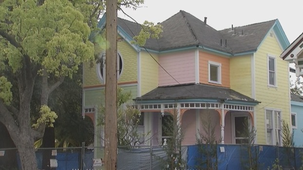 Old Victorian in Santa Clara Remodeled to Resemble House in Movie 'Up'