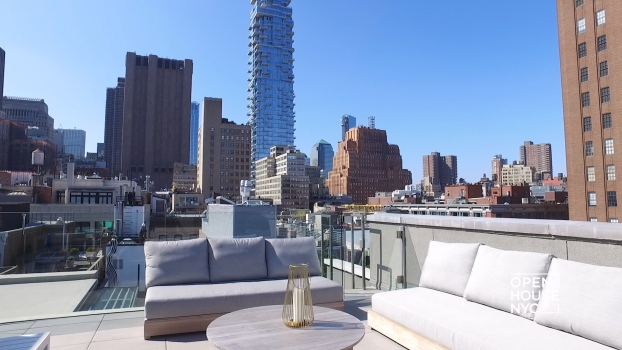 Home Tour: Modern Triplex Penthouse in TriBeCa