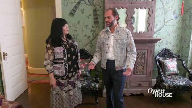 Touring Fashion Icon Anna Sui's Stylish Home with Ellé Decor