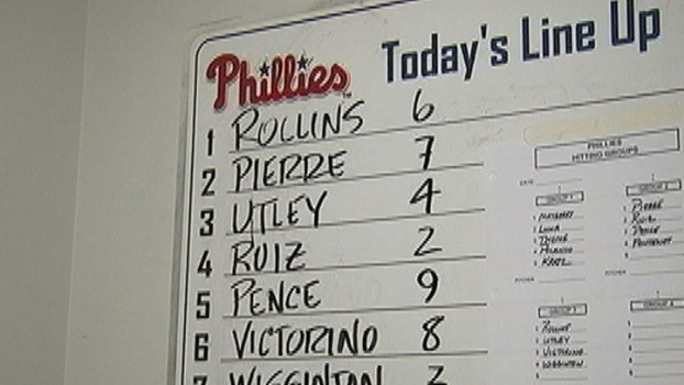 Utley Back in the Lineup
