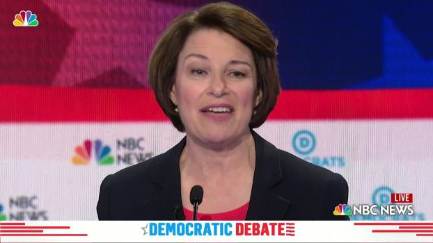 Amy Klobuchar: 'That's What We Call at Home All Foam and No Beer'