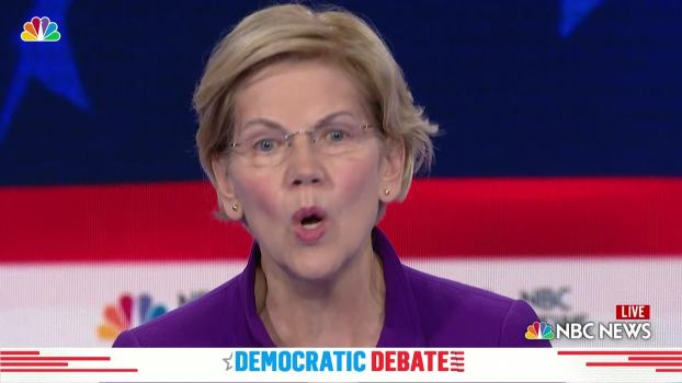 Elizabeth Warren: 'We Need to Treat This Like the Virus That's Killing Our Children'