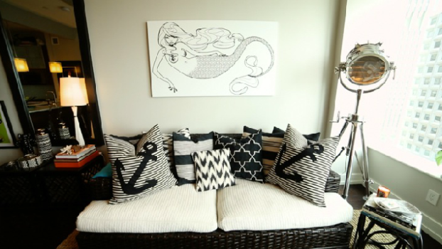 Inside Katrina Szish's Urban, Nautical City Pad