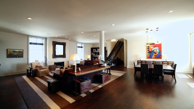 Square Feet: An Impressive Duplex Loft in Soho