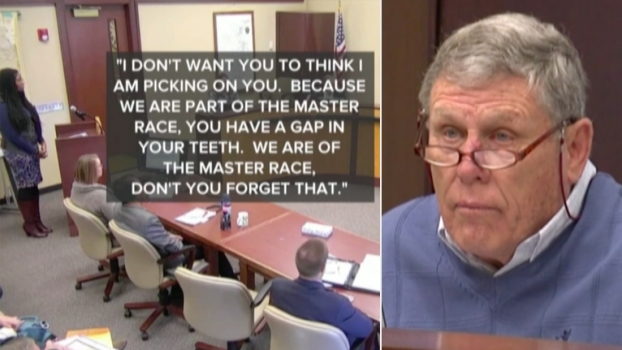 White Official Tells Black Woman He Belonged to Master Race