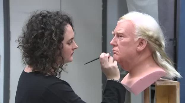 [NATL] President Trump Gets Wax Figure for Madame Tussauds