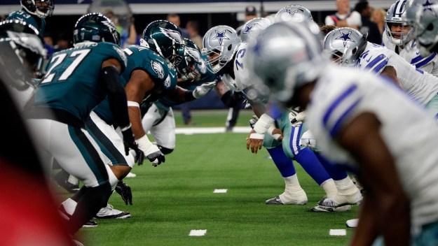 It's Eagles at Cowboys on Sunday Night Football on NBC10