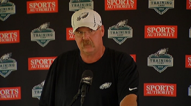 [PHI] Andy Reid Humbled by Support Over Son's Death