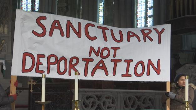 Undocumented Family Seeks Sanctuary Inside Philly Church