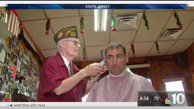 100 Year Old Barber Keeps Working