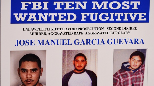 Man on FBI's Most Wanted List Surrenders in Mexico
