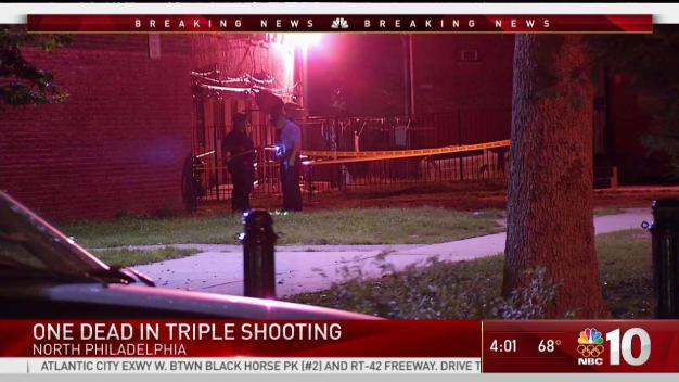 1 Dead, 2 Injured in North Philadelphia Shooting
