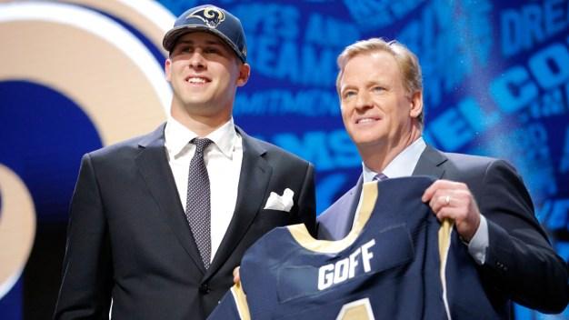 NFL Draft: Rams Pick QB Jared Goff No. 1