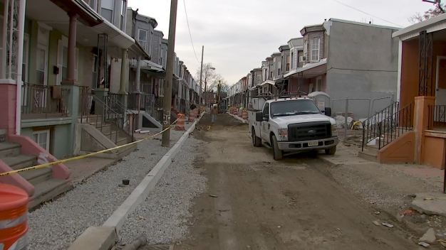 NBC10 Responds: Residents Deal With Messy Street Due to Sewer Work