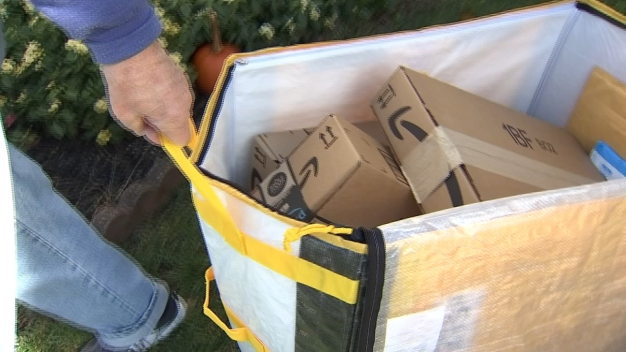 NBC10 Responds: Deliveries Left in the Middle of Street