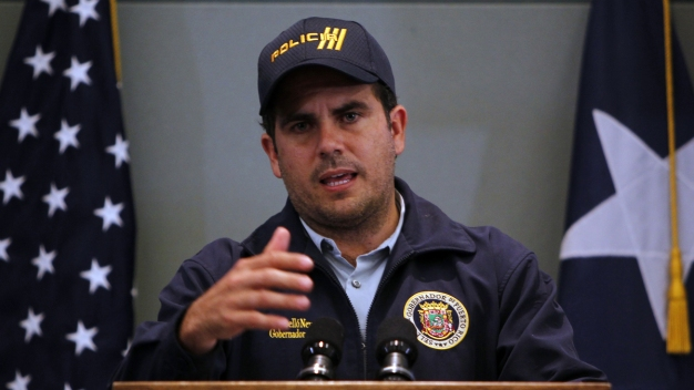 Puerto Rican Governor Slams Government; Says Aid Inadequate
