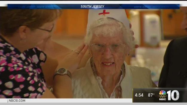 96-Year-Old Becomes Honorary Nurse