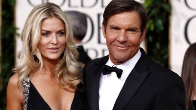 Dennis Quaid's Wife Files for Divorce, Again