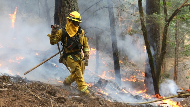 Smoke From Massive King Fire Cancels Ironman Tahoe Races