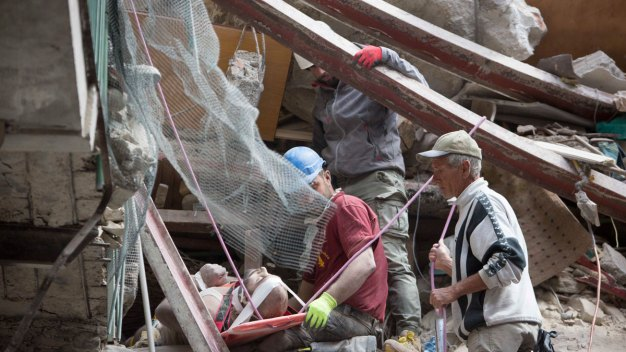 'Like Dante's Inferno': Italy Quake Death Toll Rises to 120