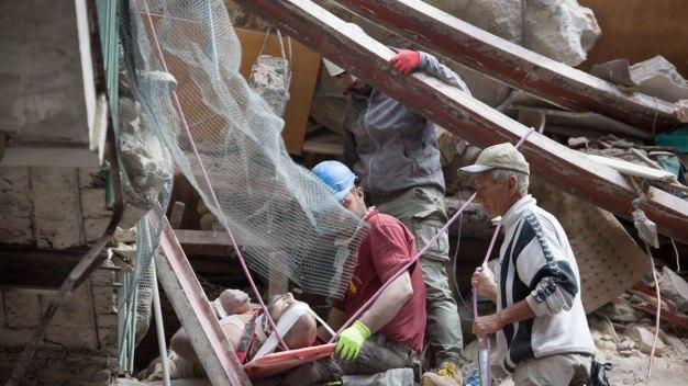 'Like Dante's Inferno': Italy Quake Death Toll Rises to 120