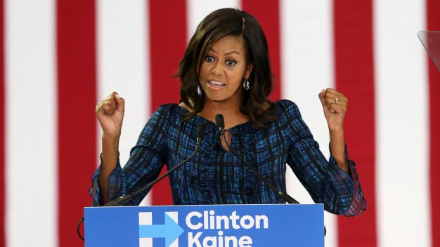 Michelle Obama Pushes for Millennial Voters in Philadelphia to Choose Hillary Clinton