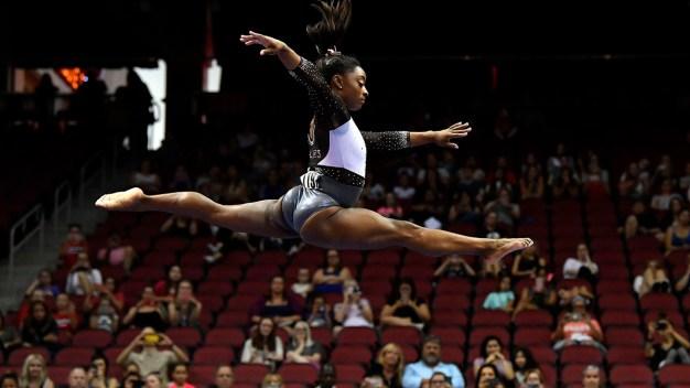 Simone Biles Takes Gold Medal at US Classic Gymnastics