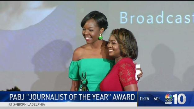Aundrea Cline-Thomas Wins PABJ Journalist of the Year
